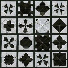 WonderFold Squares 28 (Origami Spirit) Tags: origami paperfolding papiroflexia frbel froebel