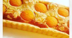 Tarte aux abricots et crème d'amandes fruits abricots du roussillon dessert