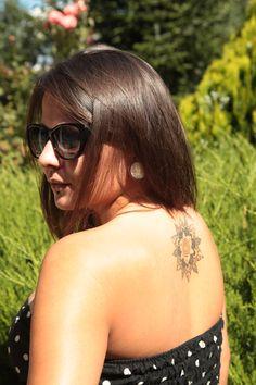 Photo by me. Photo: Diána Rigó #photography #beauty #summer #tattoo #style #shiny_hair #nice_skin