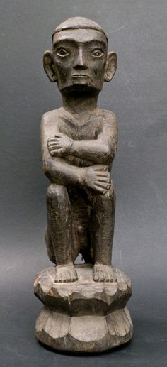 """Bulul"" rice god – IFUGAO – Northern Luzon, the Philippines - Catawiki Tribal Decor, Tribal Art, Filipino Art, Indigenous Art, Statues, Philippines, Auction, Rice, God"
