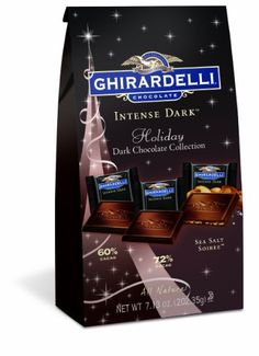 Ghirardelli Dark and Caramel Sea Salt Chocolate Squares Bag, Sea Salt Chocolate, Chocolate Shop, Best Chocolate, Candy Recipes, Gourmet Recipes, Indian Chicken Recipes, Ghirardelli Chocolate, Chocolate Squares, Roasted Almonds