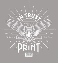 Pavlov Visuals. In Trust We Print