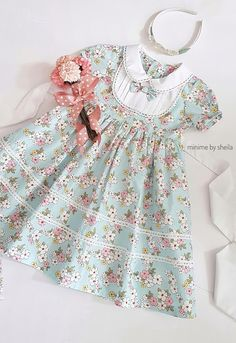 {Standard and customized baby gown, creates the best answer. Frocks For Girls, Kids Frocks, Dresses Kids Girl, Little Girl Dresses, Cute Dresses, Kids Outfits, Baby Girl Fashion, Kids Fashion, Dress Anak