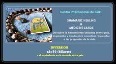 ► CURSO SANACIÓN SHAMANICA & MEDICINE CARDS®
