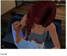 THIS baby. | 29 Times The Sims Went Horribly, Hilariously Wrong