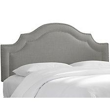 Bedford Headboard, Gray Linen