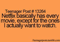 This is so true...no NCIS, no third season of Pretty Little Liars, not all of the Adam-12 episodes.....