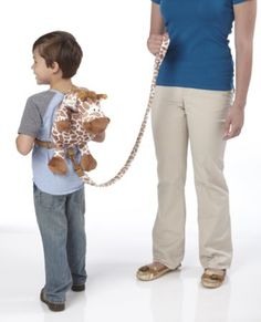 """Toddler Reins Travel Pals Safety 2in1 Harness /& Backpack 12/"""" Soft Animal Fun"""