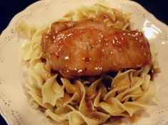 Francisco Pork Chops One of my favorite pork recipes. We like the sauce on both mashed potatoes or noodles!One of my favorite pork recipes. We like the sauce on both mashed potatoes or noodles! Pork Chop And Pasta Recipe, Best Pork Chop Recipe, Pork Chop Recipes, Meat Recipes, Pasta Recipes, Dinner Recipes, Cooking Recipes, Recipies, Dinner Ideas