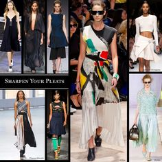 Sharpen Your Pleats - The Cut