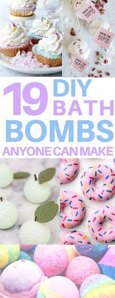 Idée pour DIY Masque : Adorable diy bath bombs just like the lush bath bombs! I love bath fizzies like