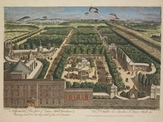 A General View of Vaux Hall Gardens,from around 1775 » via Mike Rendell, author of The Journal of a Georgian Gentleman - The Life and Times of Richard Hall, 1729-1801