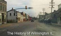 Wilmington, IL where the Jones family farmed 1850-1870