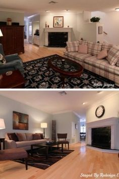 But Can Go As Far As Purchasing, Or Repurposing Items As Well. Living Room  Before U0026 After By Redesign Etc. Home Staging