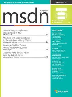MSDN Magazine - July 2016