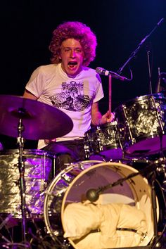 Drummer from the band Dawes, Griffon Goldsmith