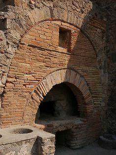 *POMPEII, ITALY ~ Bakery of Modestus,