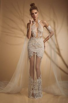 Gorgeous, I see pants.Adjust these details & fabric to fit your style & budget. Different Wedding Dresses, Dream Wedding Dresses, Wedding Gowns, Prom Dresses, Formal Dresses, Wedding Pantsuit, Budget Fashion, Wedding Styles, Sequins