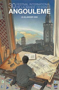 42e Festival de la Bande Dessinée d'Angoulême – 29 janvier au 1er février 2015 - Les Affiches du Festival