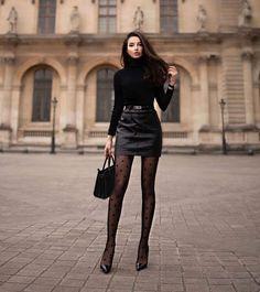 Winter Fashion Outfits, Look Fashion, Fall Outfits, Autumn Fashion, Fashion Black, Hijab Fashion, Korean Fashion, Girl Fashion, Fashion Clothes