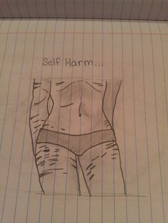 self harm drawings tumblr - Google Search