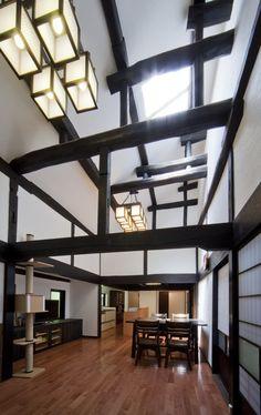 #Japan renewal of a traditional folk house