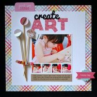 A Project by Vivian Masket from our Scrapbooking Gallery originally submitted 07/25/12 at 09:01 AM