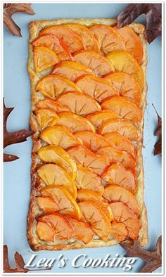 Lea's Cooking: French Persimmon Tart