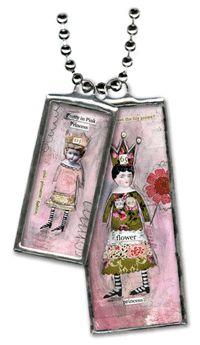 Sally Jean ~ SHOP ~ Princess  idea to add to background of jewelry box