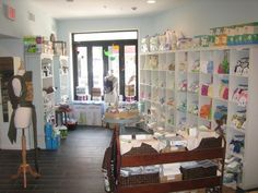 Down the street and around the corner from me: Cloth, a natural baby store, at 1605 E. Passyunk Ave.