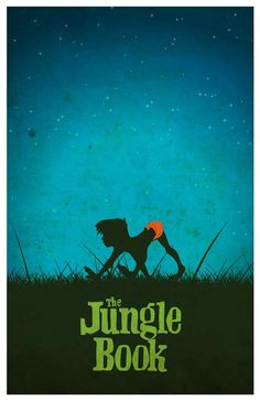 Disney movie poster Jungle Book by MINIMALISTPRINTS on Etsy