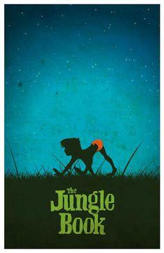 Vintage Disney Poster Set by MINIMALISTPRINTS on Etsy