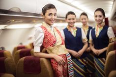 Tibet Airlines, New Uniform for cabin crew