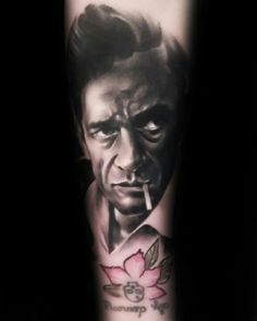 My Johnny cash tattoo done by Kyle Scarborough. Truly amazing!