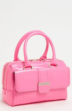 aaac38d6cead9f Ted Baker London  Enamel - Mini  Quilted Bowler Bag available at Nordstrom  Coral Color