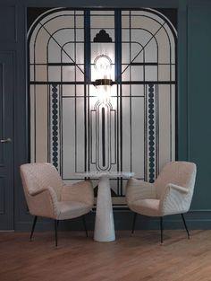 Hotel Bachaumont | Un hôtel décoré par Dorothée Meilichzon |   Décoration restaurant - design - déco