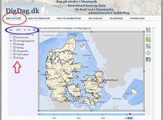 DigDag er en forkortelse for Digitalt atlas over Danmarks historisk-administrative geografi og er et forskningsprojekt finansieret af Ministeriet for Videnskab, Teknologi og Udvikling under Den nationale pulje for forskningsinfrastruktur.
