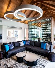 Luxury Residence with Glamorous Elements and Use of Natural Materials famous stylish contemporary architecture design