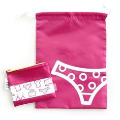Packwell Tidy Bag for Underwear - $14.95 #tidybag #laundrybag #luggageorganiser