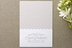 ella gant Bridal Shower Invitations by guess what? at minted.com