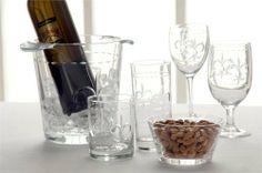 Fleur De Lis Set Of 4 Wine Goblets by Rolf. $38.99. Gift Boxed White Wine Fleur De Lis Designed Goblets