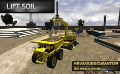 Ağır Ekskavatör 3D Simulator