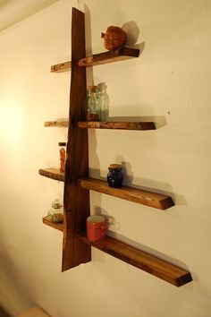 make a tree #shelf #bookshelves