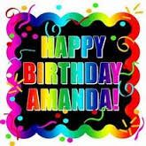 happy birthday amanda - Google Search