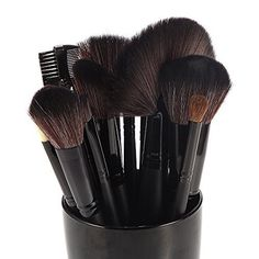 DRQ 24 Pieces Studio Pro Makeup Make Up Cosmetic Brush Set Kit_Black by Dr Dry ** Learn more by visiting the image link.