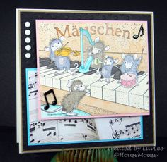 Musical Mousies! by LuvLee - Cards and Paper Crafts at Splitcoaststampers