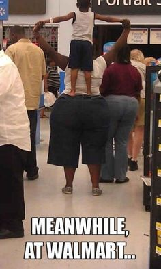 After watching these funny pictures, you must say people of Walmart are so ridiculous, and Meanwhile in Walmart, you will be entertained by the funny people. - Page 4 of 5 Crazy Funny, Funny Shit, Haha Funny, Funny Cute, Hilarious, Funny Stuff, Funny Humor, Funny Things, Farts Funny