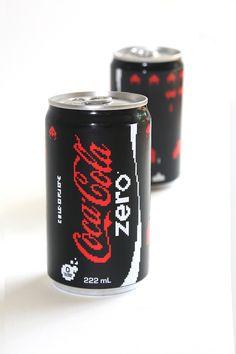 Coca-Cola – Pixel Edition by Erin L. M. McGuire, via Behance