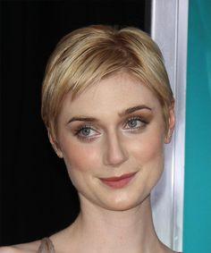 Elizabeth Debicki Short Straight Hairstyle.
