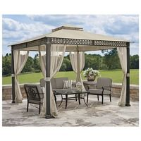 Essential Garden Garden Pop Up Gazebo Pegoda Privacy